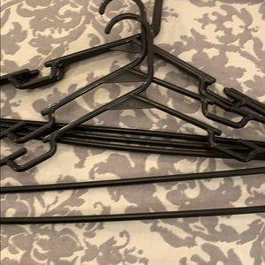 Target Storage & Organization - 30 black plastic hangers